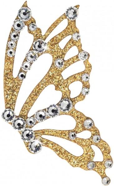 Freedom 5 Gold-Kristall 1016042DE Körperschmuck Swarovski Crystal