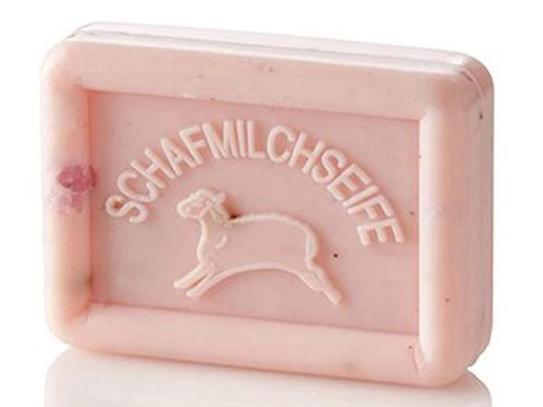 Ovis Hansen Schafmilchseife Rose-Lavendel 100g Eckig 8,5 X 6 CM 100225