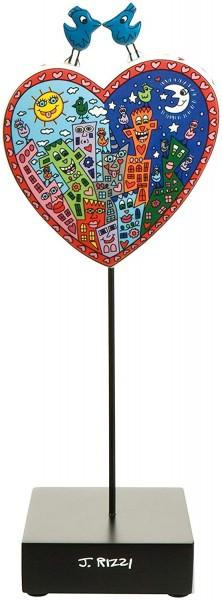 Goebel Pop Art Love in The Heart of City - Figur Bunt