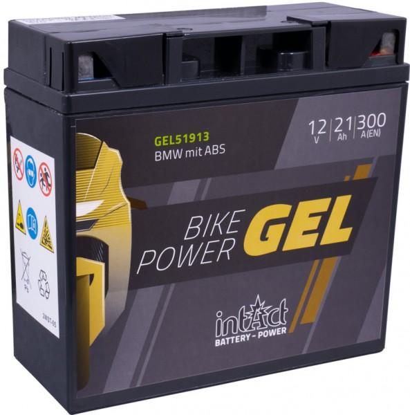 Intact Bike Power battery GEL 51913 SLA12-20; 51913; PC680; 52015; 51814; 52001; 519901; 519901017;