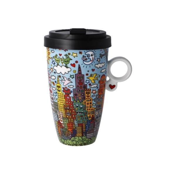 Goebel Kaffee to go MY NEW YORK CITY DAY James Rizzi 500ml 26103051 Porzellan