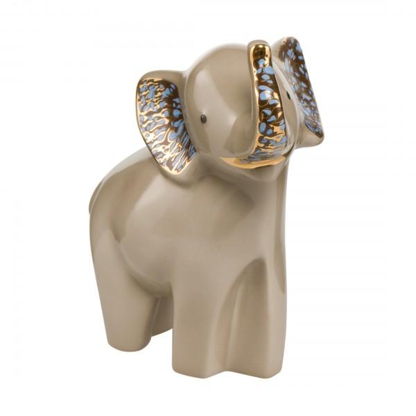 Goebel 70000141 Siangiki - Elefant - Porzellan - Dekofigur Höhe 15,5 cm Jeder Kauf unterstützt Elef