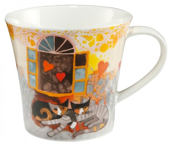 Goebel Amoroso Mug Tasse Rosina Wachtmeister Katze Teetasse Kaffeetasse