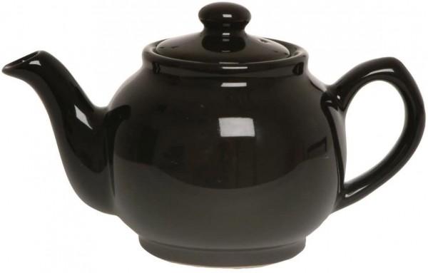 Price & Kensington, 6 Tassen Teekanne, Steingut, schwarz, klassisch 0056.753