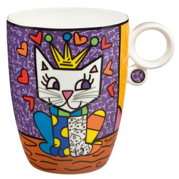 Goebel Her Royal Highness - Künstlerbecher Pop Art Romero Britto Bunt Fine Bone China 66452271