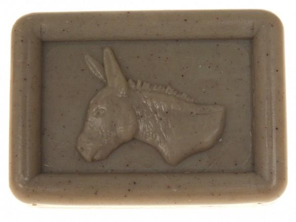 Ovis Hansen Eselmilchseife Salbei-Moschus-Duft 100g Eckig 8,5 X 6 CM 103116
