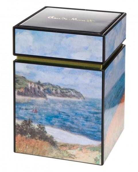 Goebel Strandweg Weizenfelder Claudet Monet Künstlerdose Dose Teedose 67065091