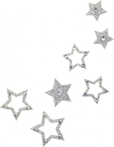 Fame 1 Silber-Kristall 1016052DE Körperschmuck Swarovski Crystal