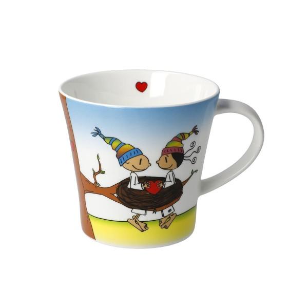 Coffee-/Tea Mug - Glück ist Zeit