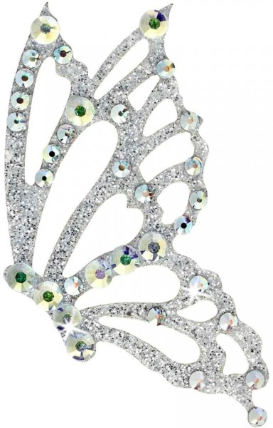 Freedom 6 Silber-Kristall AB 1016077DE Körperschmuck Swarovski Crystal