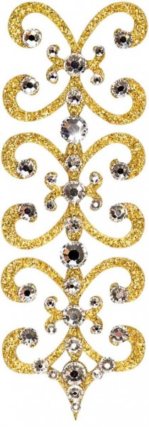 Florence 1 Gold-Kristall 1016007DE Körperschmuck Swarovski Crystall