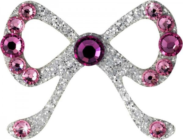 Elegance 3 Silber-Hellrosa 1016059DE Körperschmuck Swarovski Crystal Pink