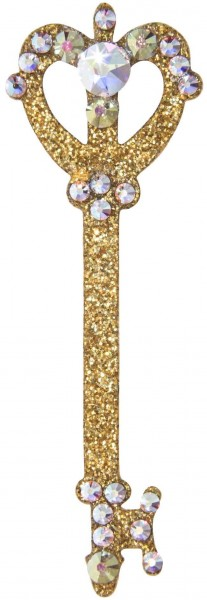 Secret 3 Gold-Kristall AB 1016031DE Körperschmuck Swarovski Crystal
