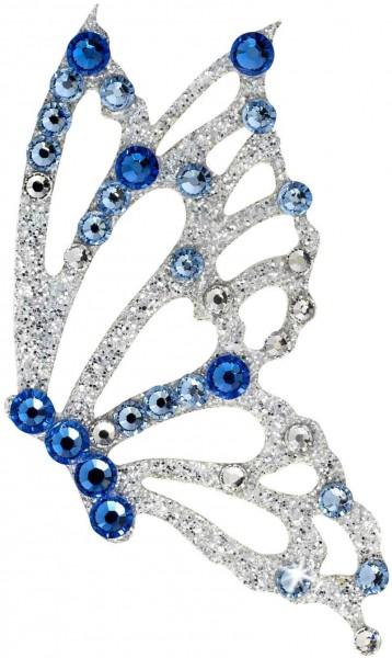 Freedom 4 Silber-Blau 1016034DE Körperschmuck Swarovski Crystal Blue