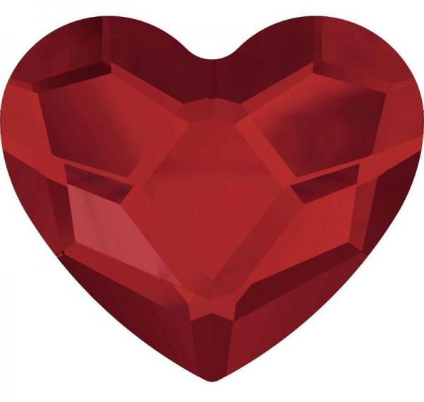 Heart 2 Rot 1016081DE Körperschmuck Makeup Art Swarovski Crystal Red