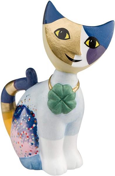 """Goebel Katzenskulptur, Figur Rosina Wachtmeister - Katze """"Fortunello"""" Porzellan, Mehrfarbig, 8cm"""