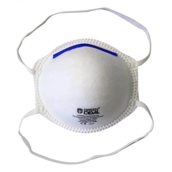 FFP2 Atemschutzmaske ohne Ventil (vorgewölbt, Modell GD7020) 3400