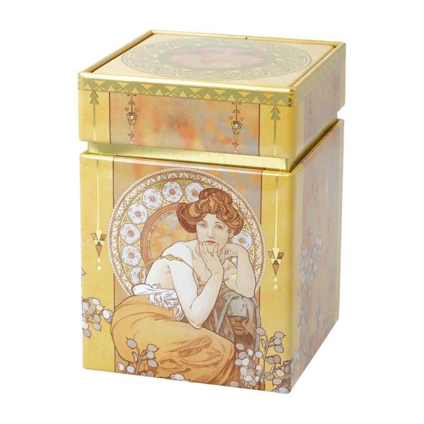 Goebel Topas - Künstlerdose Alphonse Mucha Neuheit 67065161 Teedose Kaffeedose Dose