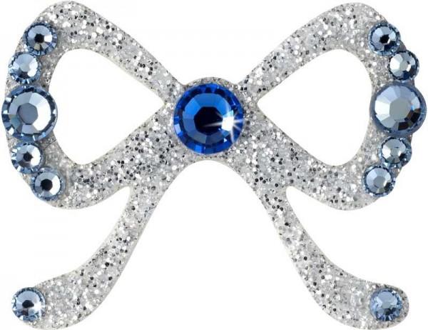 Elegance 4 Silber-Hellblau 1016060DE Körperschmuck Swarovski Crystal Blue