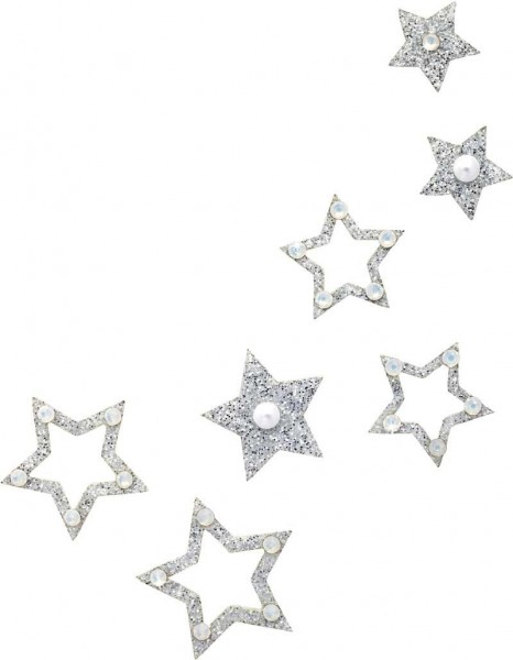 Fame 5 Silber-Perle 1016056DE Körperschmuck Swarovski Crystal