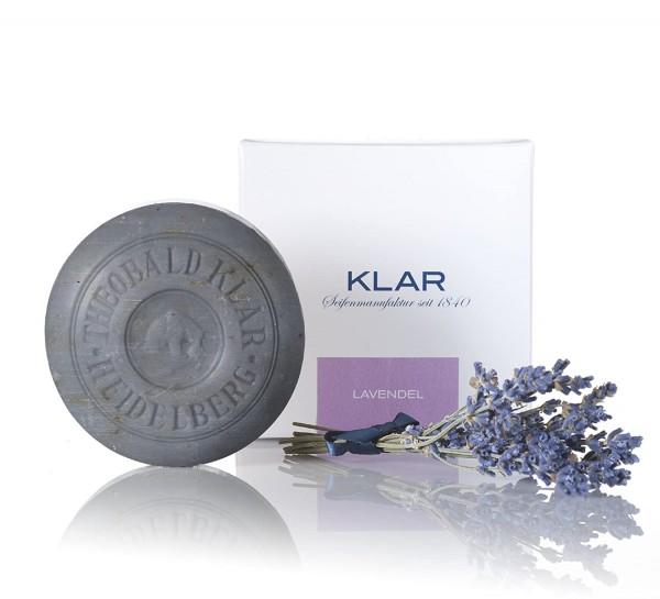 Klar Seifen Exclusive Lavendelseife 150g von der Klar Seifenmanufaktu