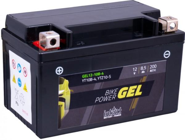 intact Bike-Power GEL 12V 8,5Ah YTZ10-S Gel12-10B-4 YT10B-4; GT10B-4AGM; 50901; 508901015; YTZ10S-4;