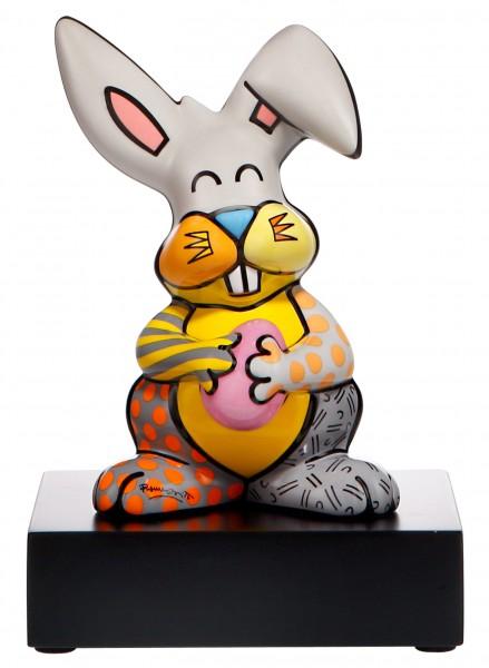 "Goebel Figur Romero Britto - ""Grey Rabbit"" Romero Britto Bunt Porzellan 66452891"