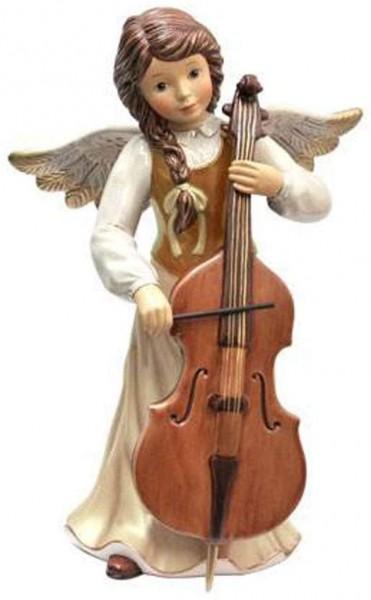 Goebel XM S Himmlische Sinfonie cham. Weihnachten Himmelsboten Champagner Steingut 41618071