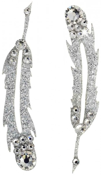 Hope 4 Silber-Kristall 1016030DE Körperschmuck Swarovski Crystal