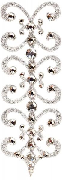 Florence 3 Silber-Kristall 1016009DE Körperschmuck Swarovski Crystall
