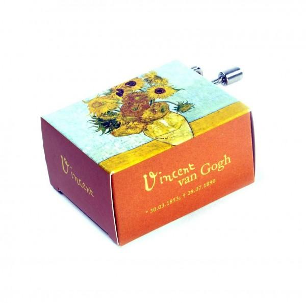 Fridolin Art und Musik – Vincent Van Gogh – Sonnenblumen – Vivaldi Spring – Spieluhr mit Kurbel