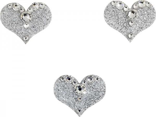 Love 1 Silber-Kristall 1016047DE Körperschmuck Swarovski Crystal