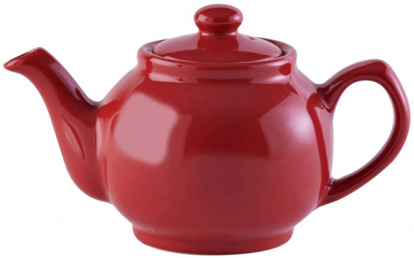 Price & Kensington, 2 Tassen Teekanne, Steingut, rot, glänzend 0056.752